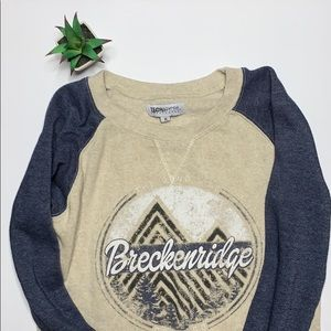 🌵Breckinridge Colorado fleece sweatshirt